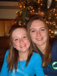 Shelby Matthews and Devan Matthews Christmas 2009