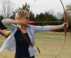 Charlotte Abel archery