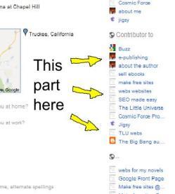 contributor to Google Plus profile
