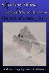 Extreme Skiing and Psychedelic Mushrooms cover by Jason Matthews