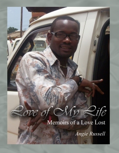Love of My Life Memoirs of a Love Lost cover by Angie Russell