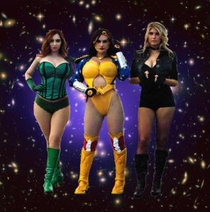 galaxies girls 3