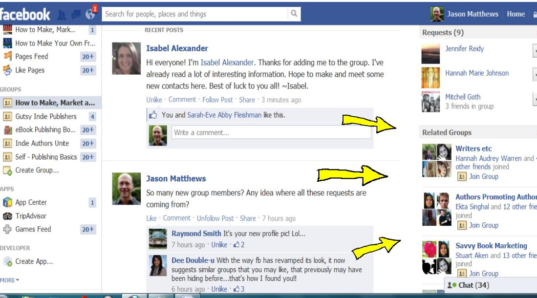 Facebook Groups | How to Make, Market and Sell Ebooks
