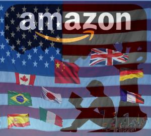Amazon Author Central Foreign Countries flags