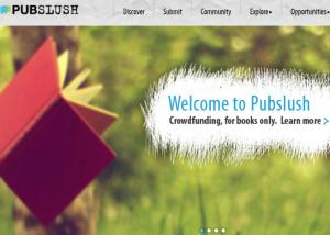 Pubslush home page