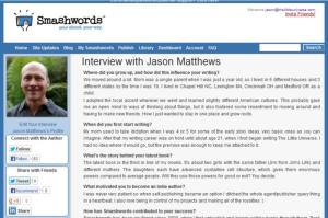 Smashwords Interviews with Authors