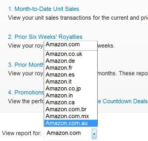 Amazon foreign countries list