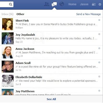 how to delete facebook inbox