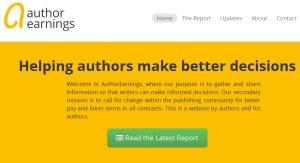 Author Earnings Hugh Howey website