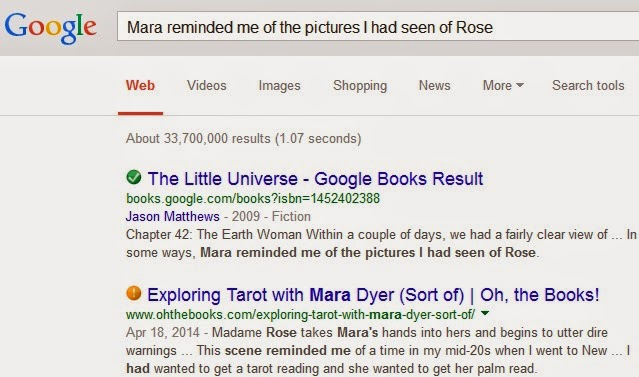 Google text search