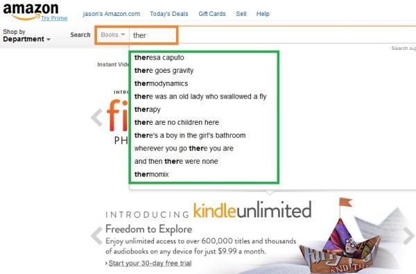 Amazon search engine 3