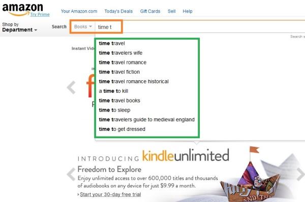 Amazon search engine 6