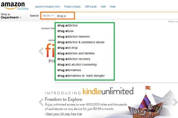 Amazon search engine 7