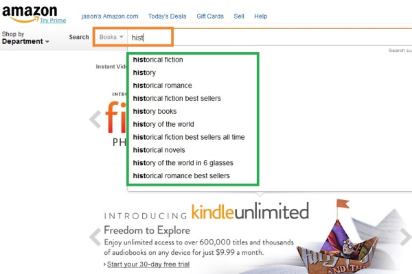 Amazon search engine 9