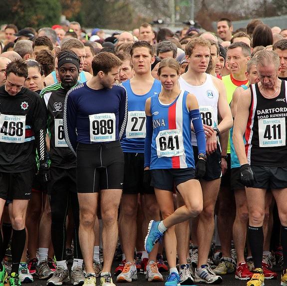 marathon-starting-line